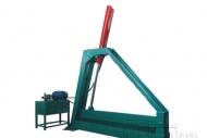 Máquina cortadora vertical log